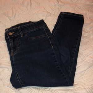 Mossimo Skinny Crop size 4 Fit 3. EUC